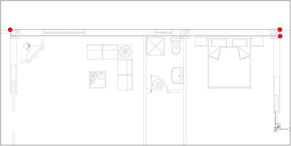 Návrh budovy V