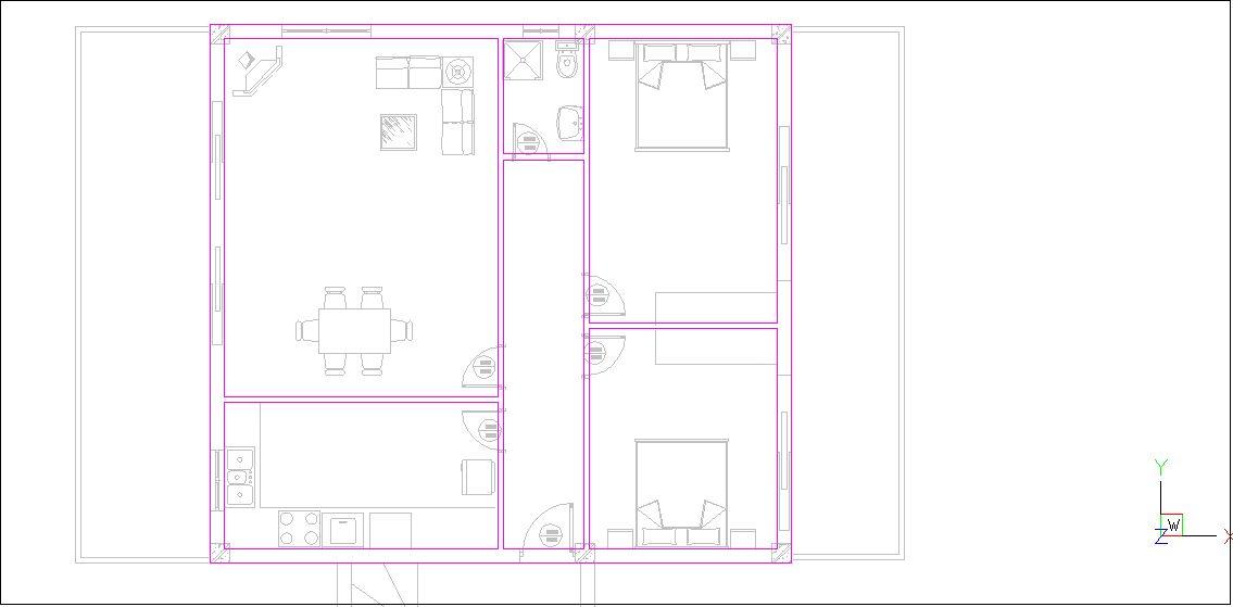 Návrh budovy VI