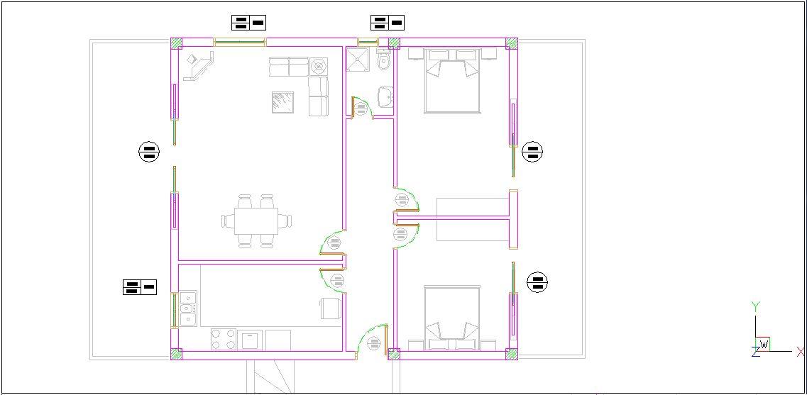 Návrh budovy XI